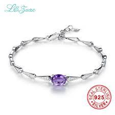 sted jewelry aliexpress buy l zuan 1 225ct amethyst purple