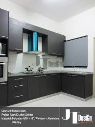 Kitchen Cabinet Completed At Puncak Alam Puncak Alam JT DesiGn - Kitchen cabinets melamine