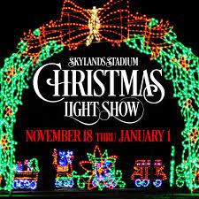 christmas light show 2016 christmas light show skylands stadium