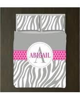 Zebra Print Duvet Cover Huge Deal On Zebra Print Duvet Cover W Shams Monogrammed Name