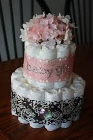 our blessed life baby shower diaper cakes