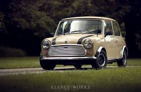 slammed mini cooper rally stance works buys a classic archive motoring alliance