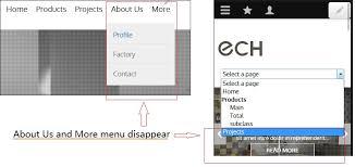 mobile navigation menu doesn t work in drupal 8 3 5 2893553