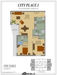 Essex Skyline Floor Plans City Place Drewlo Holdings Drewlo Holdings