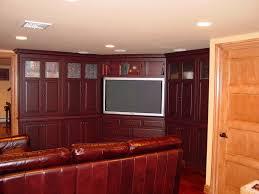 media room nj custom cabinets trade mark design