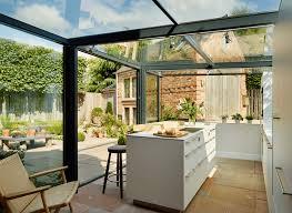Wohnzimmer Modern Hell Quaint English Cottage Gets A Modern Kitchen Addition Http