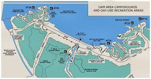 Table Rock Lake Map Vicksburg District U003e Missions U003e Recreation U003e Arkabutla Lake