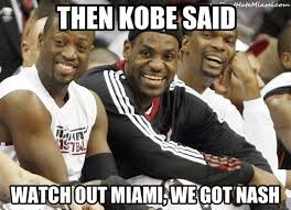 Kobe Memes - kobe bryant meme the world chion don t hate miami your