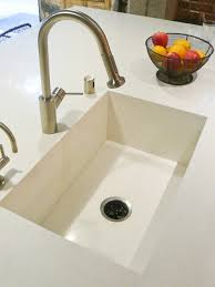 Solid Surface Sinks Kitchen Guide To Kitchen Sink Options Sinks Kitchens And Modern
