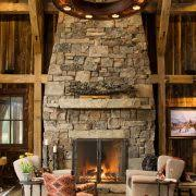 Pine Ceiling Boards by Rustic Fireplace Screens Porch Rustic With Pine Ceiling Boards