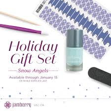 jamberry holiday gift sets winter wishes all is and snow