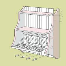 kitchen cabinet dish rack singapore how to build a plate rack