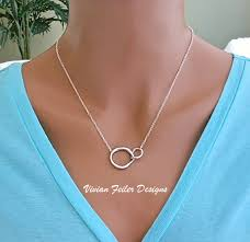 necklace for mothers necklace child infinity silver s day