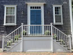 nantucket quaker friendship stairs you can greet people coming