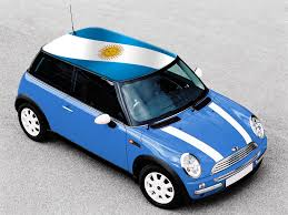 Argentina Flag Photo Argentina Flag Flags On Mini Cooper Roof Pinterest