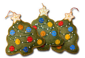 lumenaris products felt ornaments tree