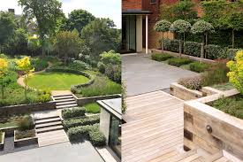 contemporary garden design trees the garden inspirations