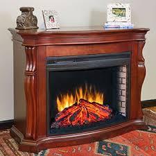 Muskoka Electric Fireplace Amazon Com Muskoka Tuscan Burnished Cherry Electric Fireplace