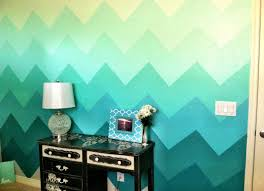 interesting wall painting ideas that make your interior shooting
