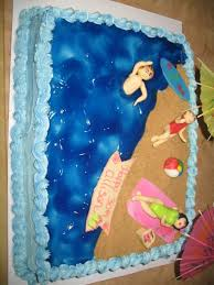 56 best beach cakes for kids birthday images on pinterest