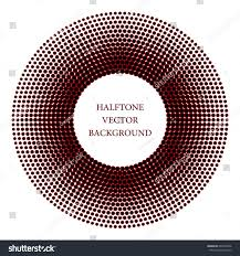 abstract halftone pattern background vector modern stock vector
