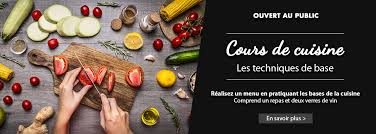 cours du soir cuisine cours de cuisine la guilde culinaire