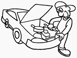 Mechanics Coloring Pages Getcoloringpages Com Tools Coloring Page