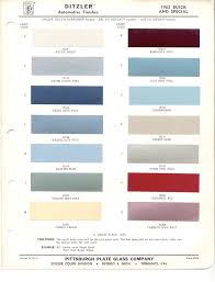 paint chips 1962 buick