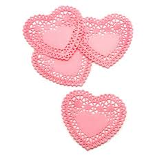 heart doilies buy the 4 pink heart doilies 24 pack at
