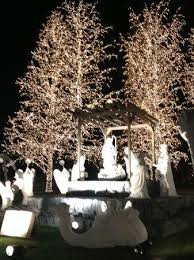 nativity scene at night picture of gaylord opryland resort
