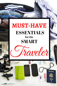 travel necessities packing essentials flirting with the globe