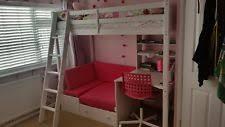 High Sleeper Bed With Futon High Sleeper Bed Ebay