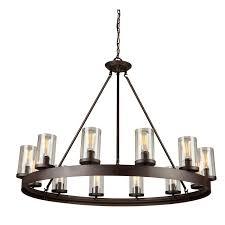 ideas appealing dark linear chandelier by artcraft lighting for