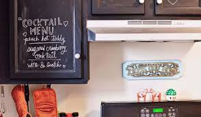 decor chalkboards in kitchens stunning decorating ideas with