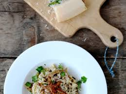 thanksgiving risotto recipe dried porcini mushroom risotto with goat cheese recipe quick