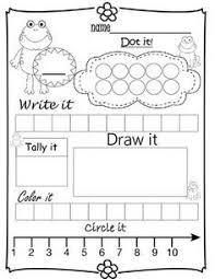simple worksheets to help students learn number sense teaching