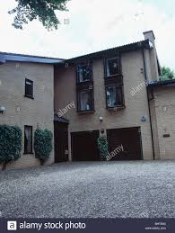 narrow modern house new build detached modern house with tall narrow windows and