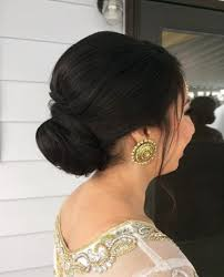 bridal hair bun 17 best wedding hairstyles for hair ideas for indian brides