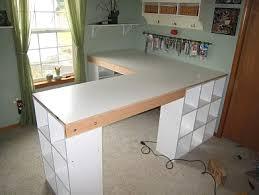 Desk Cubby Organizer Diy L Shape Desk With Ikea Like Cubbies Diy Furniture