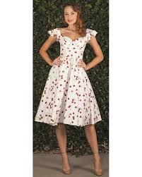 stop staring ella cherry swing dress voluptuous vintage