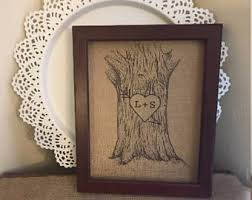 initials carved in tree carved initials tree etsy