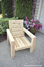 Patio Planter Box Plans by Outdoor Wood Chair Plans Free