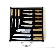 valise cuisine ducatillon valise vitrine de 11 couteaux manches bambou cuisine