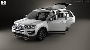 nissan platinum 2015 360 view of ford explorer u502 platinum with hq interior 2015 3d