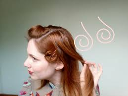 pin curl esme and the laneway how to my pin curl set for 1940 s hair styles