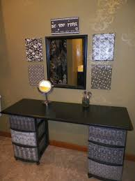 Space Saving Closet Ideas With A Dressing Table Diy Makeup Vanity I Have No Counters In This British House As