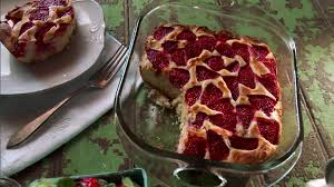 strawberry buckle with vanilla ice cream recipe nancy fuller