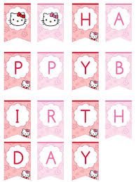 25 happy birthday banner printable ideas