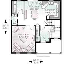 colonial style house plan 3 beds 1 50 baths 1485 sq ft plan 23 523
