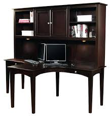 dark wood computer desk u2013 modelthreeenergy com
